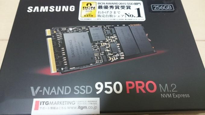 Samsung SSD 256GB 950 PRO
