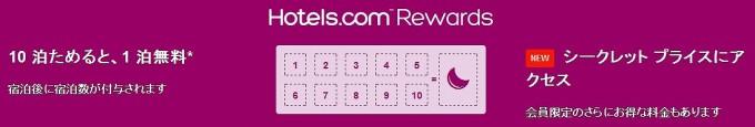 Hotels.comRewards
