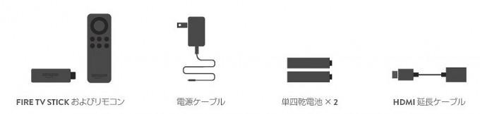 Fire TV Stick荷物_