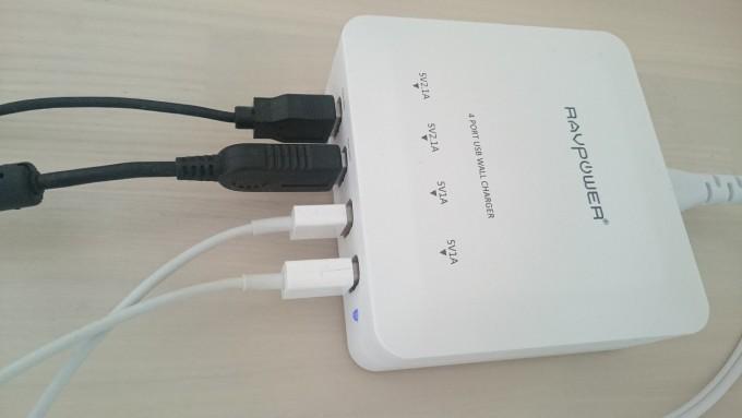 RAVPower usb充電器 4ポート