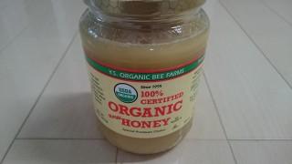 オーガニックの蜂蜜が超美味しく健康にも良いのでおススメしたい!純粋のハチミツはオーガニックじゃないよ