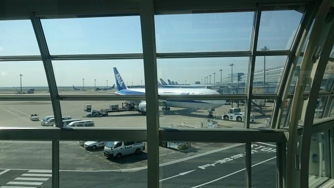 サザンビーチホテル&リゾート_ana飛行機