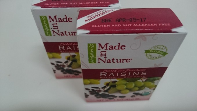 iHerb_Made in Nature, Organic Raisins1