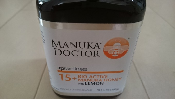 Manuka Doctor 15+バイオアクティブマヌカハニーレモン入り(500g用)2