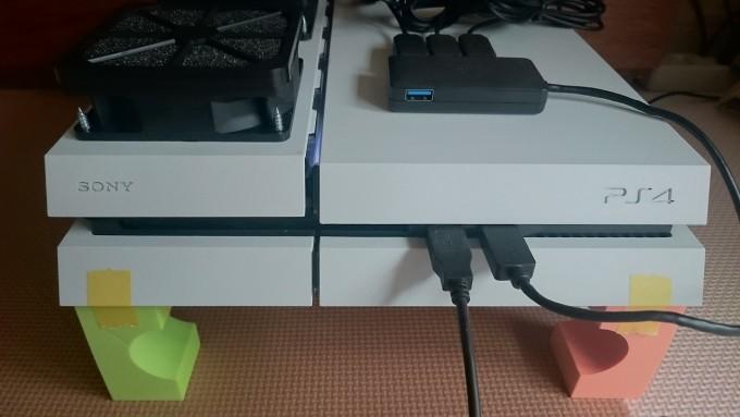 PS4改造ファン追加1