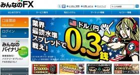 【期間限定】みんなのFX口座開設で8,000円キャッシュバック!!