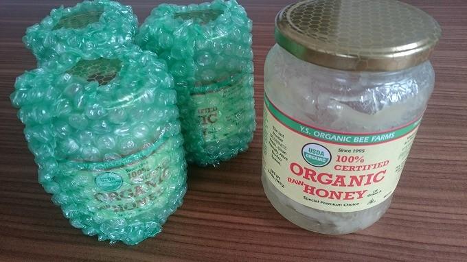 iHerb-Y.S. Eco Bee Farms, Y.S.エコビーファーム, 100%認証オーガニック生蜂蜜454g