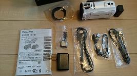 パナソニックのビデオカメラHC-VX980Mを買ったよ^^ものすごく軽いし映像がめちゃ綺麗だ!