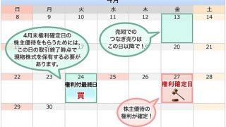【2018年4月版】コスパ良い株主優待ピックアップ!実践編